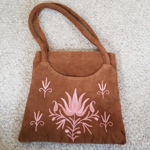 Sheep Suede Made In India Handbags - Sheep Suede Mini Handbag India